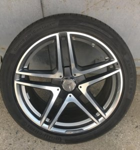 Новые колёса Mercedes S63 AMG W222