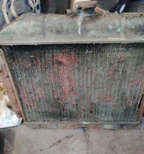 Радиатор волга