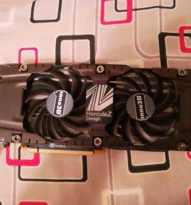 Видеокарта Inno3D Geforce GTX 1080Ti 11 Gb.