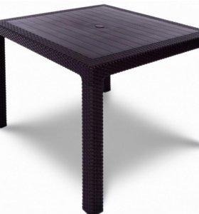Обеденный стол Ялта Кватро коричневый или белый
