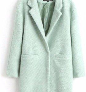 Пальто шерстяное, размер 42, состояние хоорошее