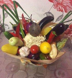 Букет из овощей на заказ
