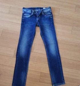 Джинсы pepe jeans для девочки 10 лет