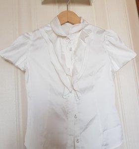 Блузка silver spoon, guess рубашка школьная форма
