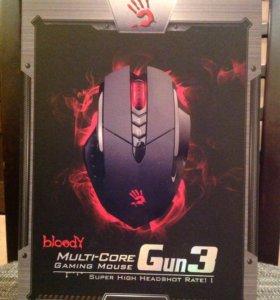 Игровая мышь A4Tech Bloody V7 Black (новая)