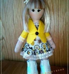 Интерьерная кукла Злата.