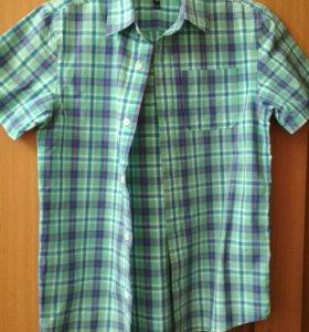 Рубашки на мальчика 12-14 лет