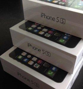 iPhone 5s оригинал гарантия чехол+стекло