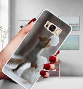 Чехол для телефона honor 7 +защитное стекло