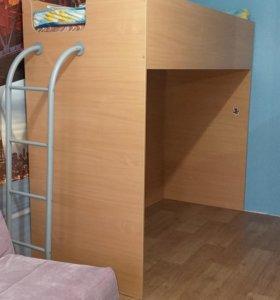 Кровать чердак, второй этаж