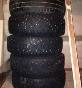 Зимние колёса с штампованными дисками R14