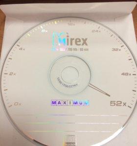 Диски Mirex CD-R