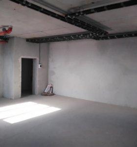 Квартира, свободная планировка, 39 м²