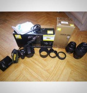Зеркальный фотоаппарат Nikon D3100 18-55kit