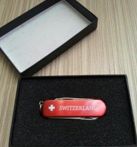 Нож брелок Switzerland