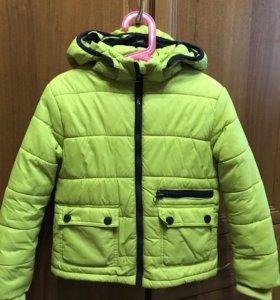 Куртка на синтепон , для мальчика рост 116 ,