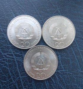 Юбилейные монеты ГДР