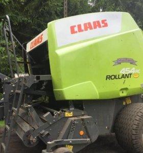 Пресс подборщик рулонный Claas Rollant 454 RC