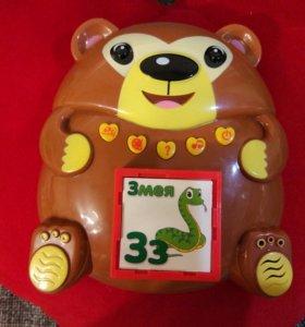 Игрушка музыкальнаяОбучающие кубики медвежонка Ыха