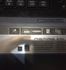 Ноутбук ASPIRE 8735G