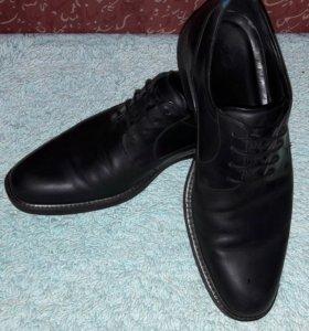 Ecco ботинки 45 черные