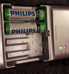 Зарядное устройство Philips MultiLife 4 аккумуля