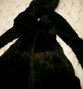Норковая шуба платье