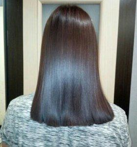 Наращивание волос 💜Кератин💜Буст ап💜