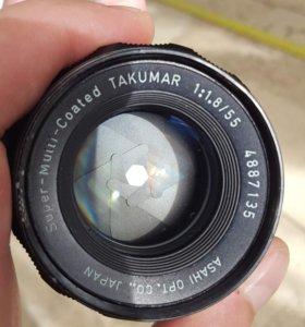 Super-Takumar 55 mm f/ 1.8 M42