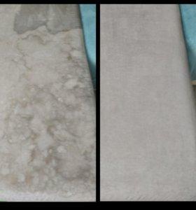 Выгодная химчистка мебели и ковров на дому