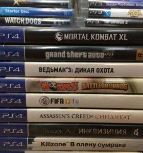 PS4 диски, набор 1.