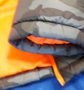 Куртка легкая зима на синтепоне