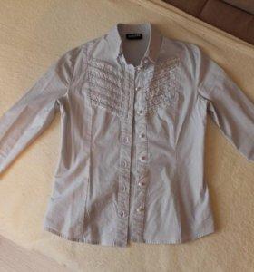 школьная блузка-рубашка