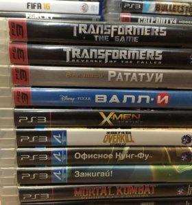 PS3 игры, набор 2 (детские)