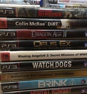 PS3 игры, набор 4.