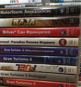 PS3 игры, набор 9 (гонки).