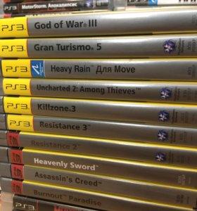 PS3 игры, набор 11 (Platinum)