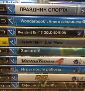 PS3 игры, набор 12 (Move).