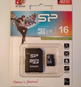 Карта micro SD. 16GB.
