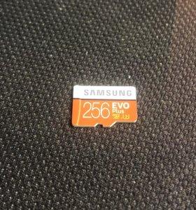 Micro SD 256gb Samsung оригинал, любые проверки