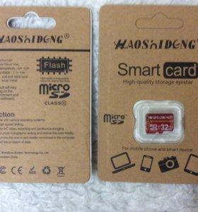 Карта памяти micro SD, 32 Гб