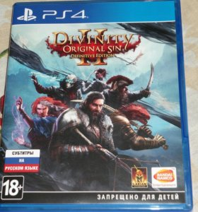 PS4 Divinity Original Sin 2