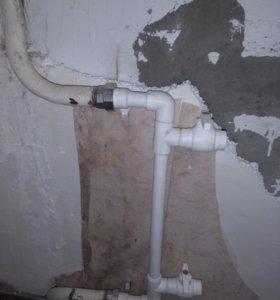 Отопление,водоснабжение.
