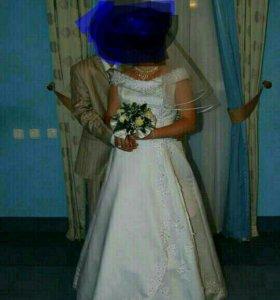 Свадебное платье 48размер