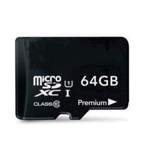 micro sd 64 гб