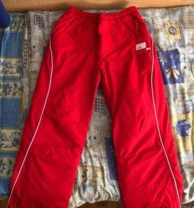 Красные зимние штаны bosco sport