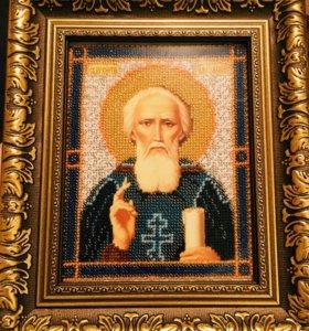 Икона « Святой Сергий Радонежский»