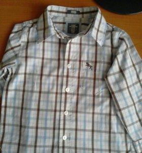 636ce2ece5b Детские блузы и рубашки (для мальчиков и девочек) - купить в ...
