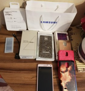 Продам Samsung Galaxy Note 4 (в розовом цвете)