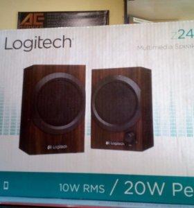 Акустическая система Logitech z240 2.0 20вт